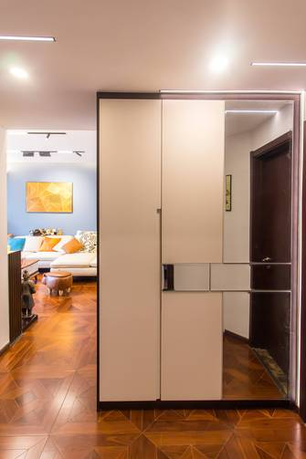 三室一厅混搭风格走廊装修图片大全