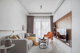 富裕型80平米三日式风格客厅效果图