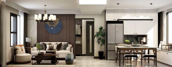 豪华型100平米三室一厅中式风格客厅设计图