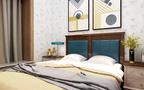 15-20万120平米三混搭风格卧室装修案例