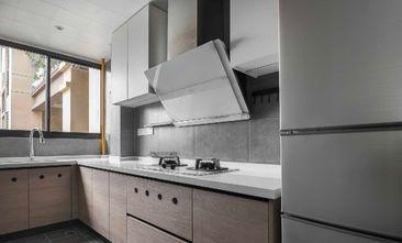 经济型80平米一室两厅北欧风格厨房图