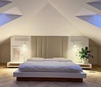 豪华型140平米别墅现代简约风格卧室装修图片大全