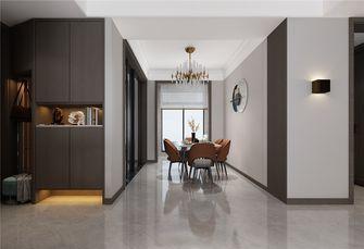 经济型110平米三室两厅现代简约风格餐厅效果图
