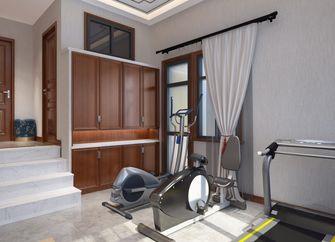 豪华型140平米别墅中式风格健身房装修效果图