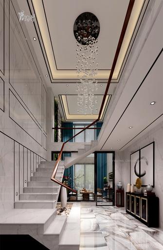 20万以上140平米别墅中式风格楼梯间装修图片大全