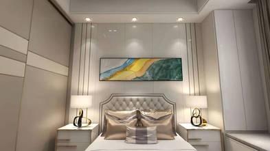 20万以上120平米别墅北欧风格卧室图
