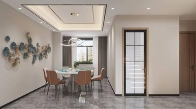 3万以下140平米现代简约风格餐厅设计图