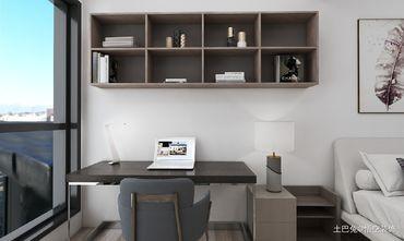15-20万120平米三现代简约风格书房装修案例
