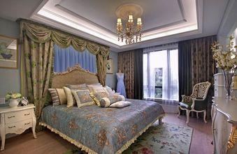 富裕型120平米三室两厅欧式风格卧室图片大全