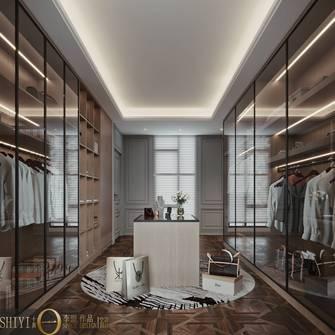 豪华型140平米别墅港式风格衣帽间图片