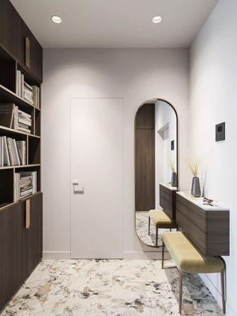 90平米三室两厅现代简约风格衣帽间设计图