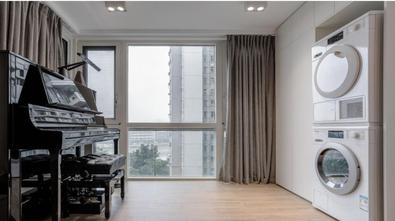 20万以上120平米三室两厅现代简约风格阳台图片