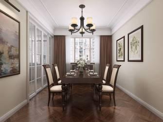 20万以上140平米三室两厅美式风格餐厅图