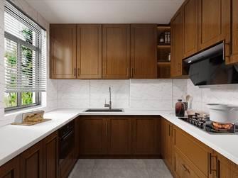 20万以上140平米复式混搭风格厨房效果图