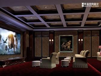 豪华型140平米欧式风格影音室设计图