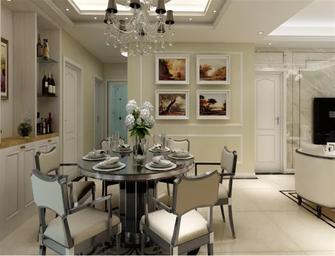 120平米四欧式风格餐厅图片
