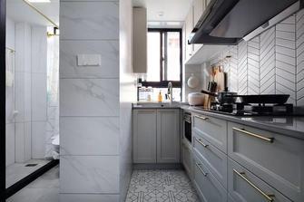 40平米小户型轻奢风格厨房欣赏图