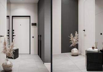 豪华型120平米四室两厅现代简约风格玄关图