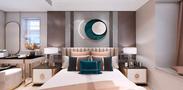 豪华型140平米四室一厅现代简约风格客厅图片