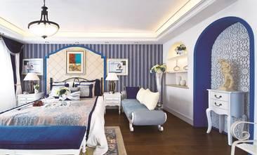 10-15万120平米三室两厅地中海风格卧室装修效果图