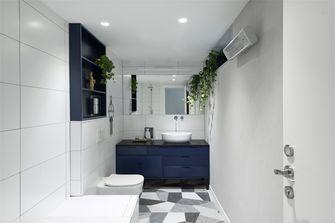 富裕型100平米现代简约风格卫生间设计图
