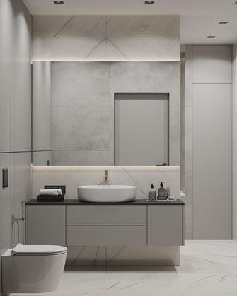 20万以上110平米四室两厅现代简约风格卫生间图片大全