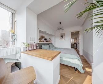 经济型50平米小户型北欧风格卧室设计图