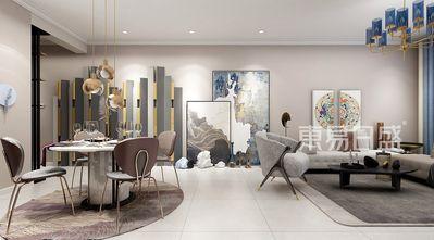 富裕型80平米四轻奢风格客厅装修效果图