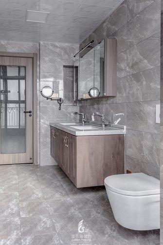 富裕型120平米三室一厅中式风格卫生间装修图片大全
