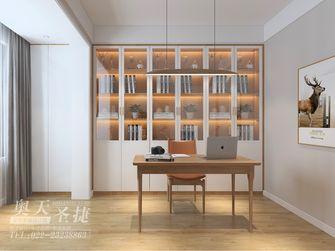 富裕型120平米四室一厅现代简约风格书房装修案例