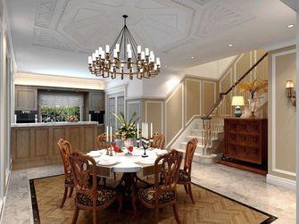 豪华型140平米三室三厅欧式风格餐厅图