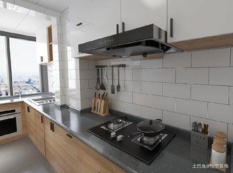 富裕型100平米三日式风格厨房图