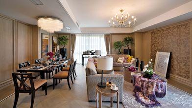 110平米三法式风格客厅装修案例