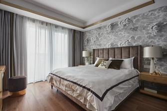 富裕型130平米三室两厅中式风格卧室设计图