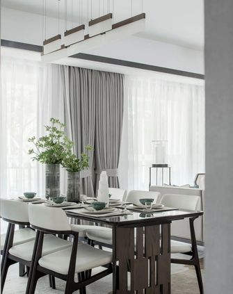 120平米三室一厅中式风格餐厅欣赏图