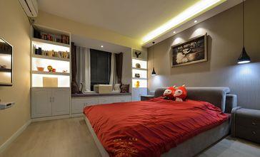 5-10万100平米三室两厅北欧风格卧室装修效果图