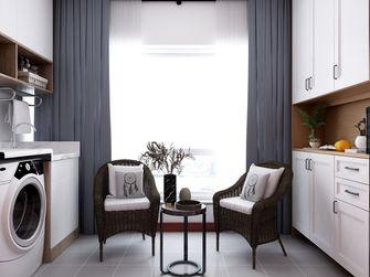 10-15万100平米三室一厅中式风格阳台图片