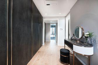 豪华型140平米别墅现代简约风格衣帽间装修效果图