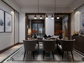 20万以上140平米复式现代简约风格餐厅图