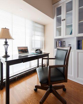 15-20万120平米四美式风格书房装修案例