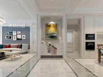 140平米三室两厅混搭风格玄关图片大全