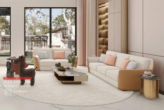 20万以上140平米别墅混搭风格客厅图片