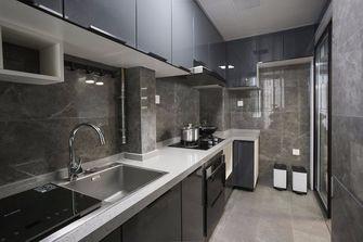 富裕型110平米三现代简约风格厨房图片