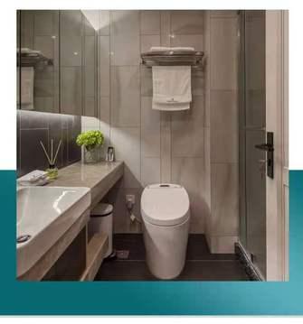 经济型三室一厅混搭风格卫生间效果图