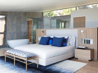 140平米英伦风格卧室装修图片大全