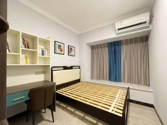 富裕型110平米三室两厅中式风格卧室图