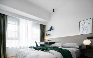 经济型110平米三室两厅现代简约风格卧室效果图