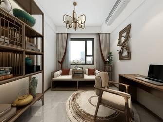 15-20万130平米三室两厅中式风格书房图片大全