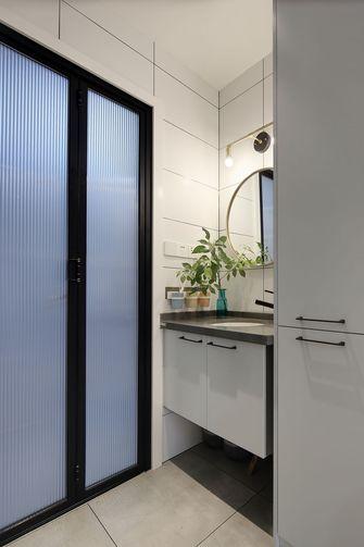 90平米三室两厅日式风格卫生间欣赏图