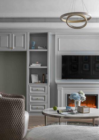 富裕型130平米公寓轻奢风格客厅图片